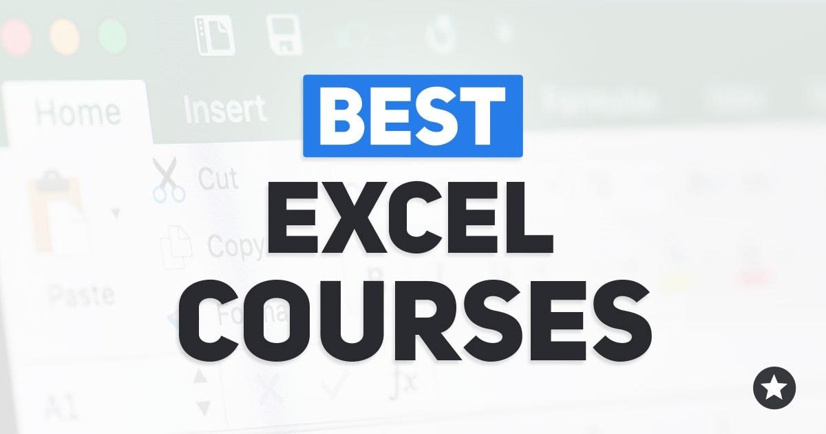 Best Online Excel Courses