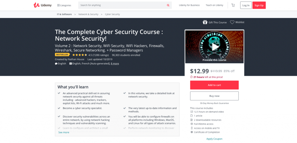 Complete Cyber Security Course via Udemy- VOL 2