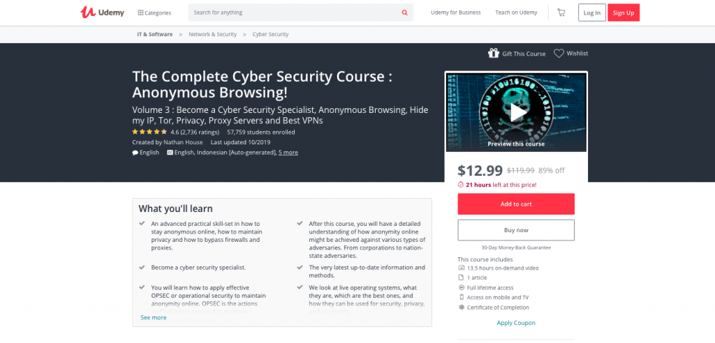 Complete Cyber Security Course via Udemy- VOL 3