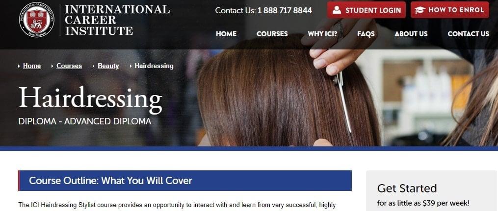 Hairdressing - ICI
