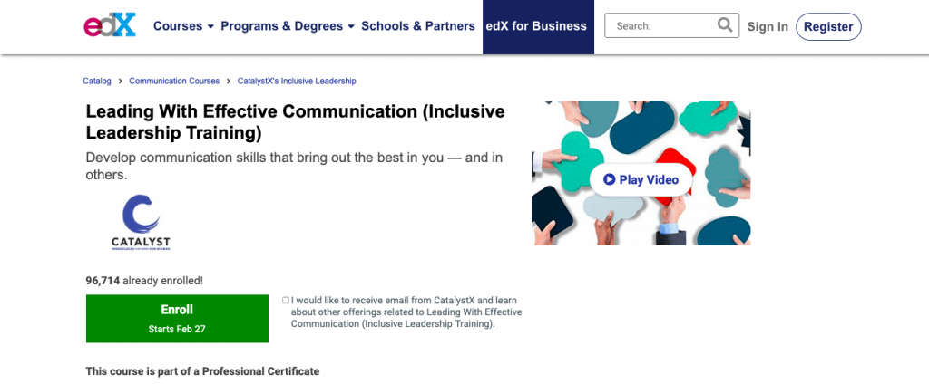 Leading With Effective Communication — edX