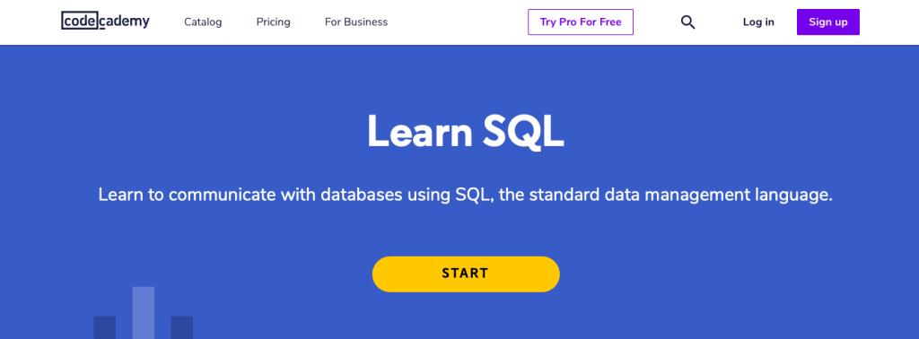 Learn SQL (Codecademy)