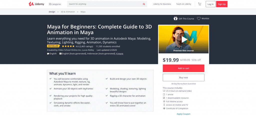 Maya for Beginners
