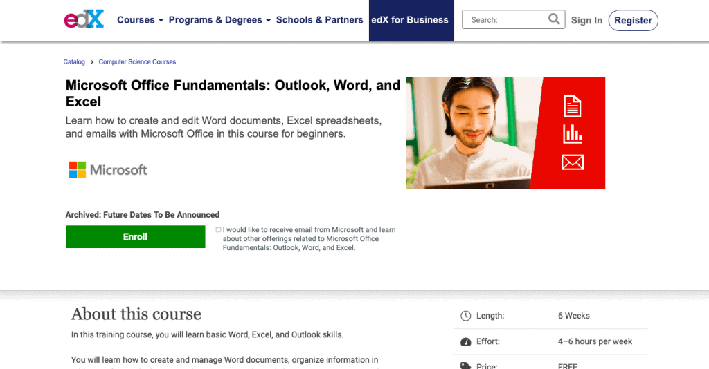 Microsoft Office Fundamentals Outlook, Word, and Excel