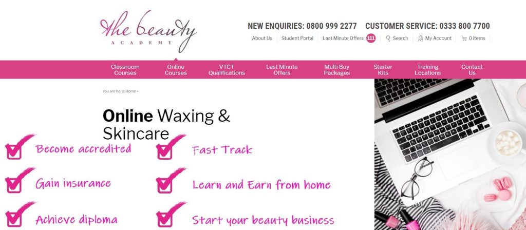 Waxing and Skincare - Beauty Academy