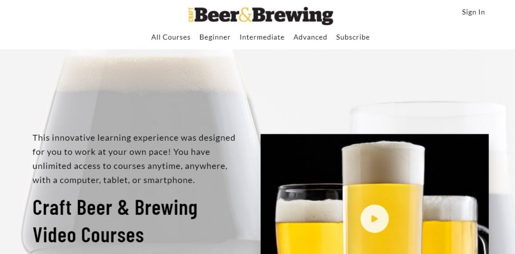 Craft Beer and Brewing