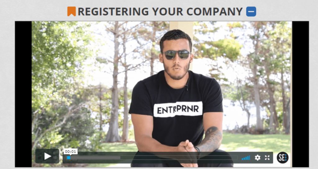 Secret Entourage Clothing Line Registering Your Company