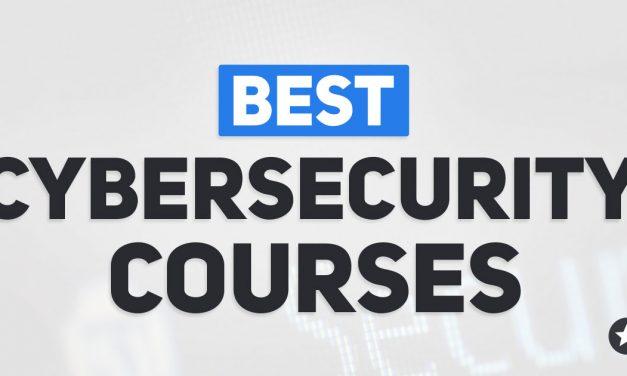 Best Cybersecurity Courses Online