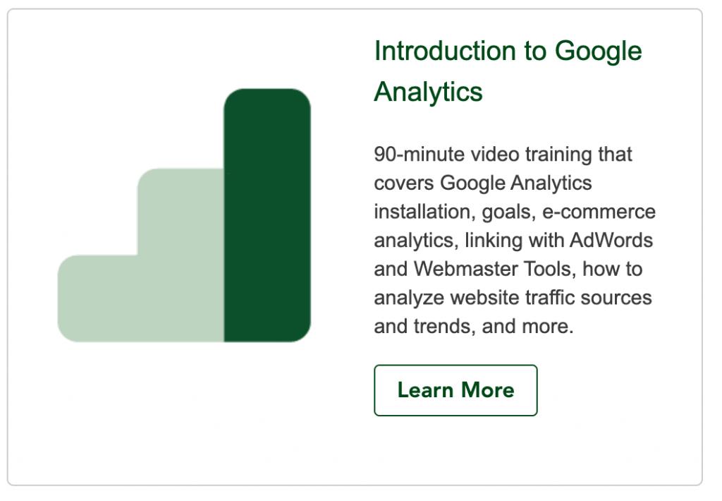 Main Street ROI Introduction To Google Analytics