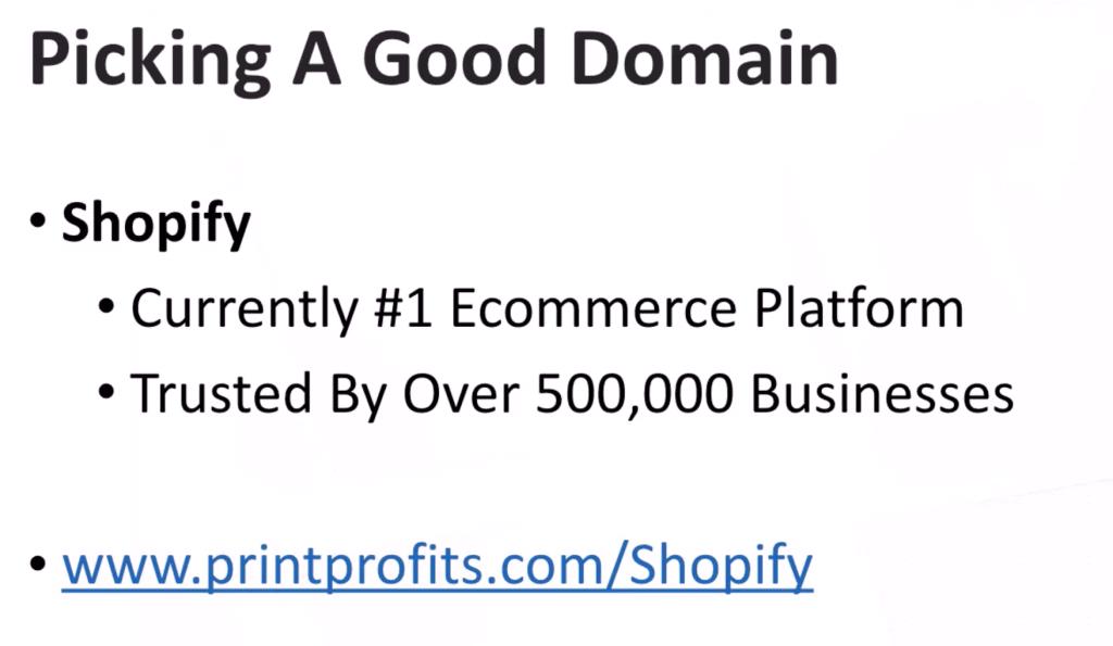 Michael Shih Print Profits - Module 1