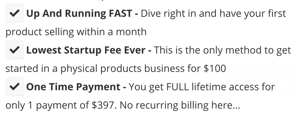The $100 Startup - Selling Points