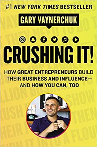 business books - Crushing It