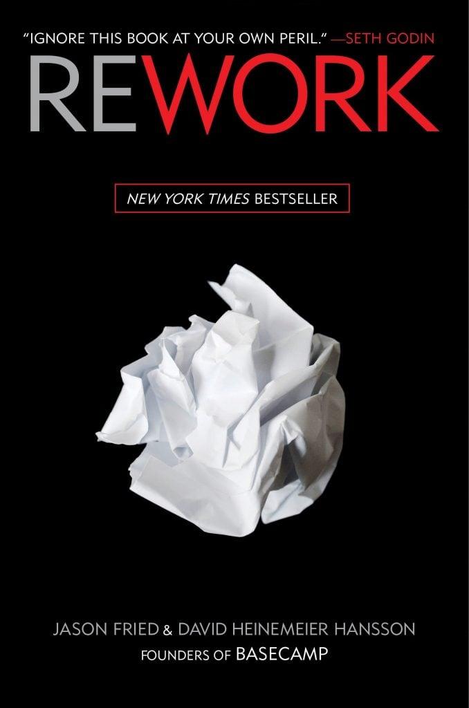 business books - Rework