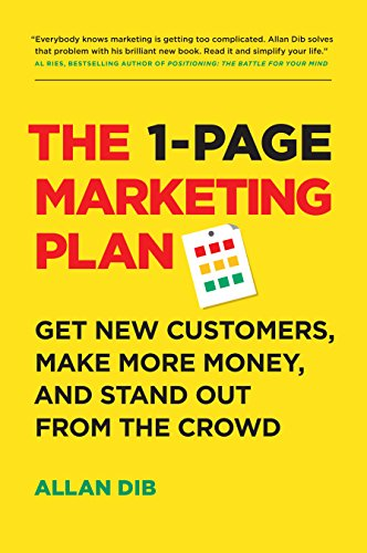 business books - The 1 Page Marketing Plan