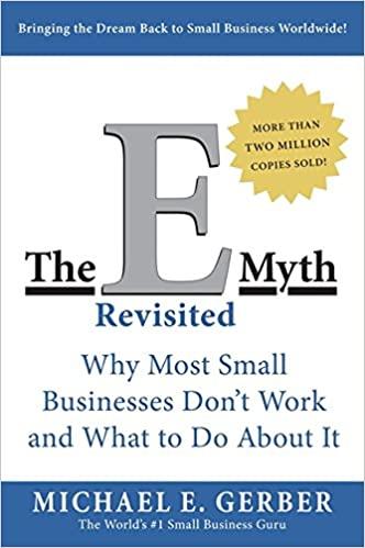 business books - The E-Myth Revisited