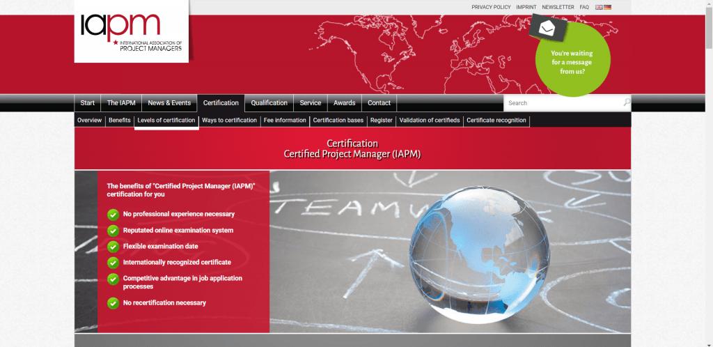 Project Management Certification CPM