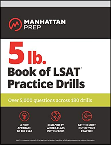 5 lb. Book of LSAT Practice Questions by Manhattan Prep
