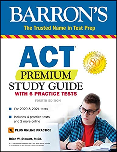 ACT Premium Study Guide by Barron's Test Prep