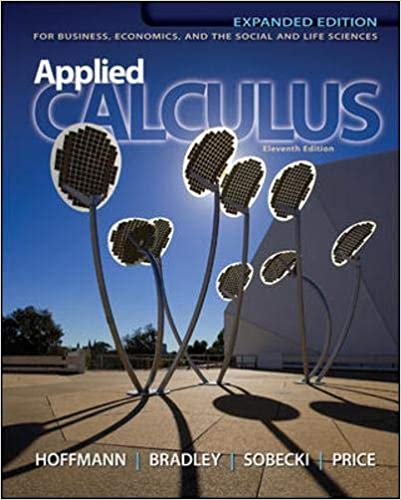 Applied Calculus by Laurence Hoffmann