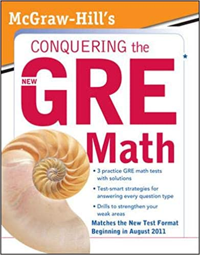 Conquering GRE Math by Robert Moyer