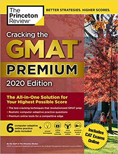 Cracking the GMAT Premium Edition by The Princeton Review