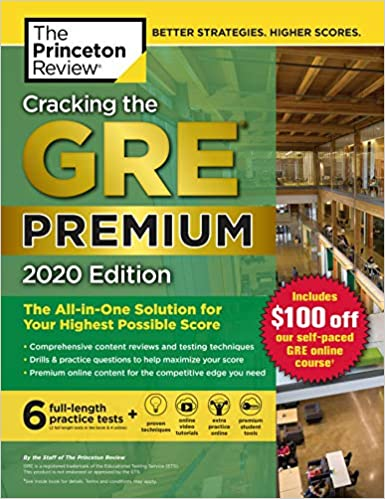 Cracking the GRE by The Princeton Review