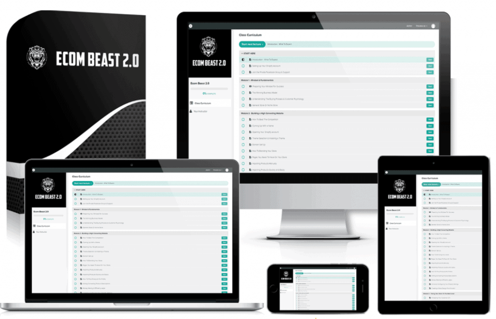 Ecom Beast 2.0 Introduction