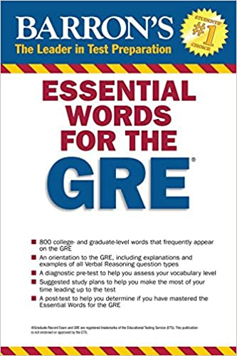 Essential Words for the GRE by Barron's Test Prep
