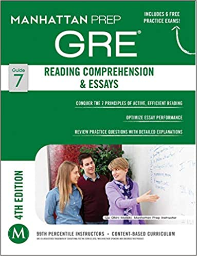 GRE Reading Comprehension & Essays by Manhattan Prep