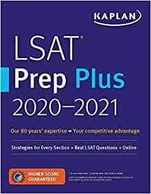 LSAT Prep Plus by Kaplan Test Prep
