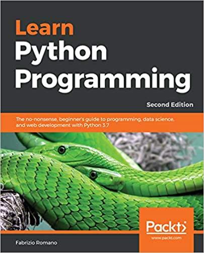 Learn Python Programming by Fabrizio Romano
