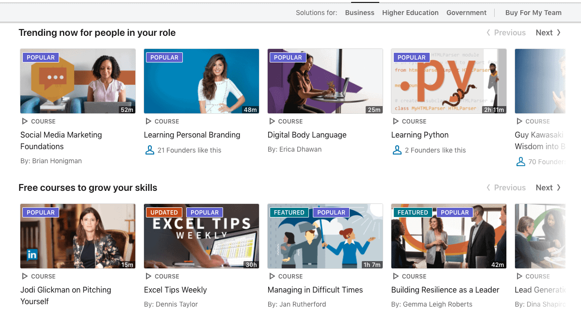 LinkedIn Learning Review – A Library Of Learning Videos
