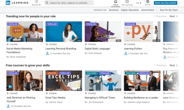 LinkedIn Learning Review - A Library Of Learning Videos