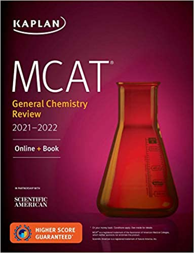 MCAT General Chemistry Review by Kaplan Test Prep