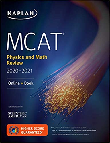 MCAT Physics and Math Review by Kaplan Test Prep