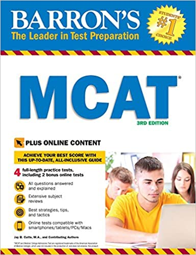 MCAT with Online Tests by Jay B. Cutts M.A.