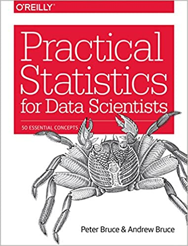 Practical Statistics for Data Scientists by Peter Bruce and Andrew Bruce