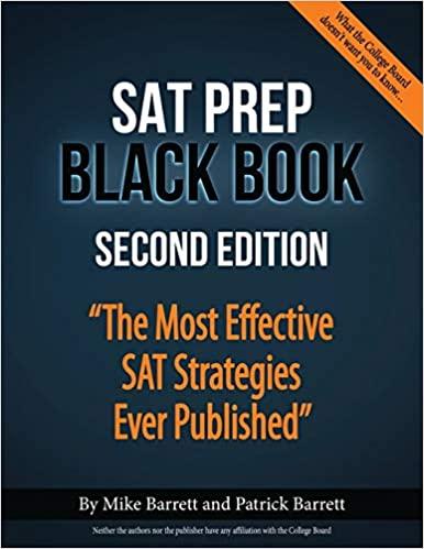 SAT Prep Black Book by Mike Barrett