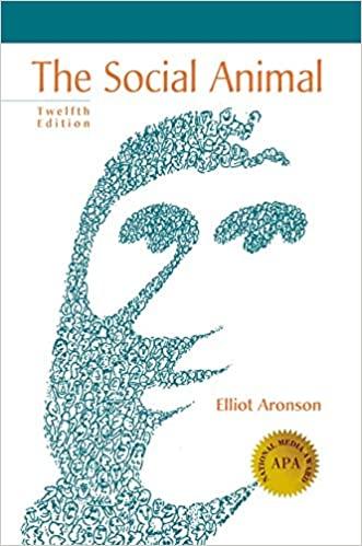 The Social Animal by Elliot Aronson