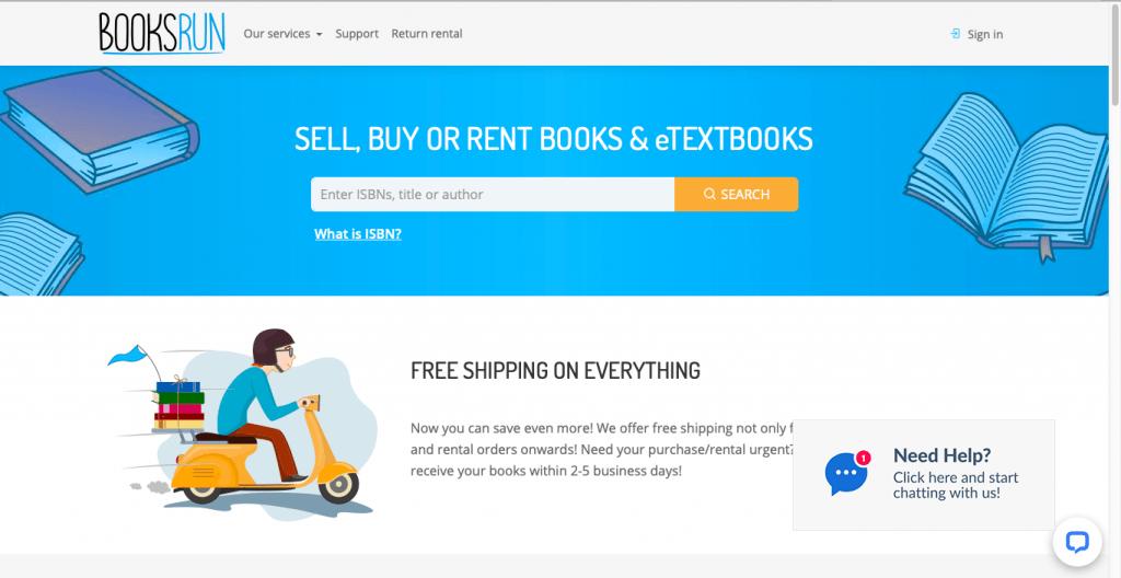 Best Textbook Buyback Site-BooksRun