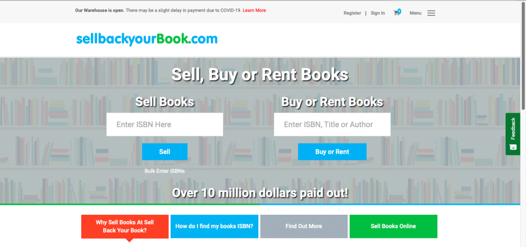 Best Textbook Buyback Site-Sell Back Your Book