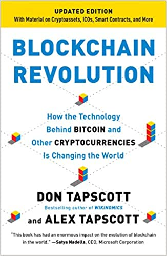 Blockchain Revolution by Alex Tapscott and Don Tapscott
