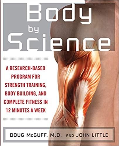 Body by Science by John R. Little
