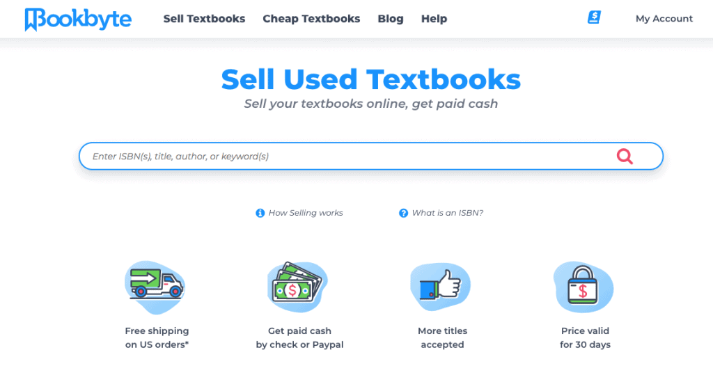 Sell Textbooks With BookByte