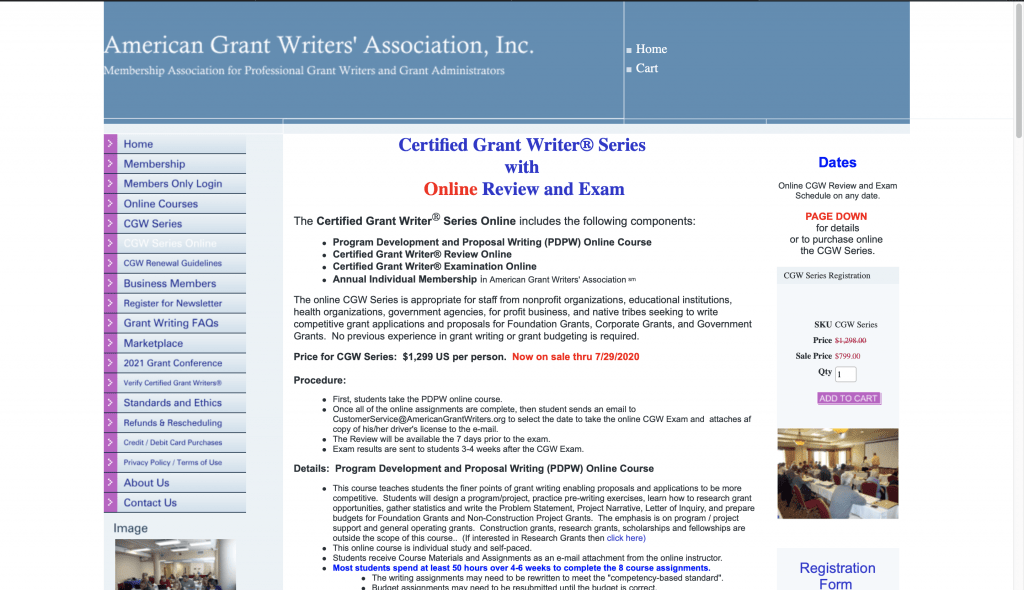 American Grant Writers' Association, Inc.—Certified Grant Writer® Series