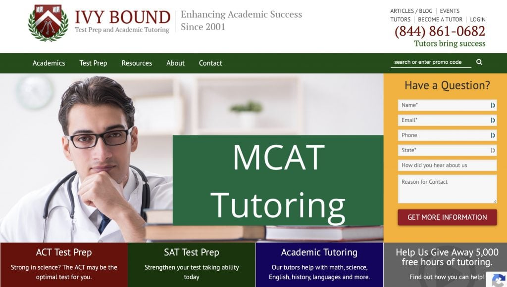 Ivy Bound SAT Test Prep