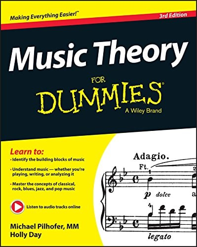 Music Theory for Dummies by Holly Day