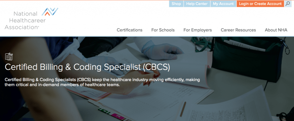 National Healthcare Association—Certified Billing & Coding Specialist