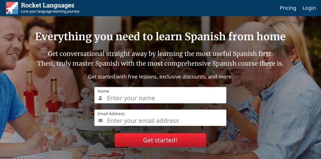 Rocket Languages Spanish
