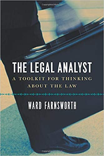 The Legal Analyst by Ward Farnsworth